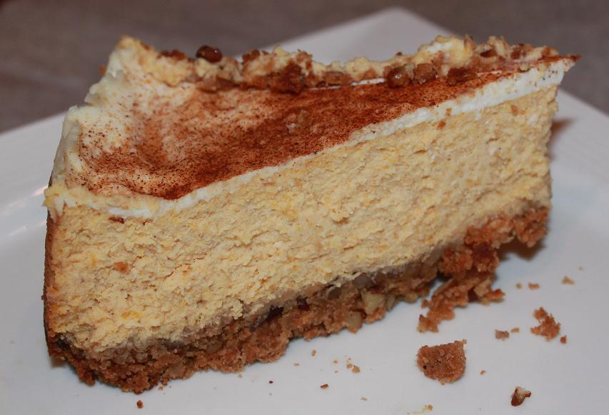 Amaretto Pumpkin Cheesecake | What's Cookin' Italian Style ...