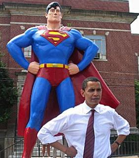 Barack plagiarizes superman