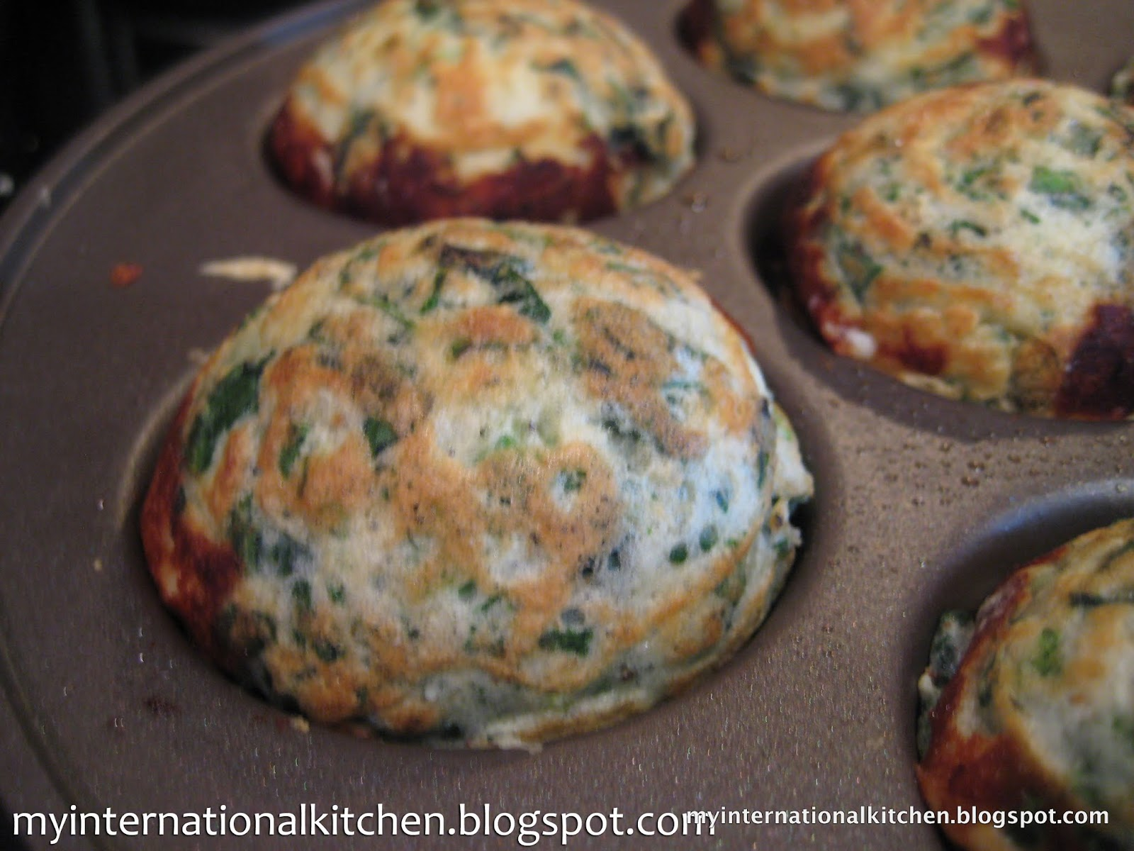 My International Kitchen: Spinach & Feta Ebelskivers