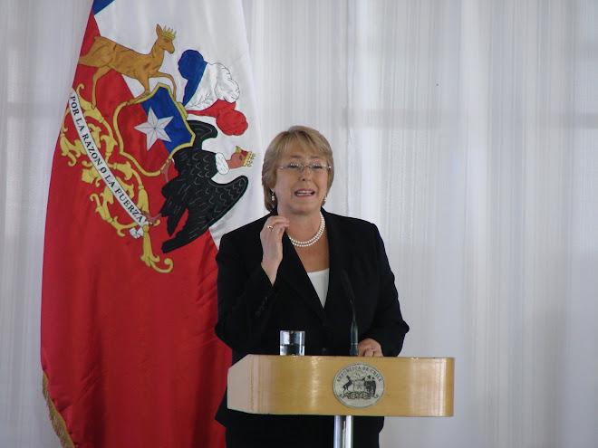 Discurso de la Presidenta de Chile