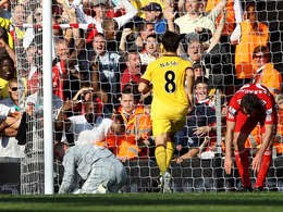 YNWA: Liverpool 1-1 Arsenal: BPL Results and Highlights 2010/