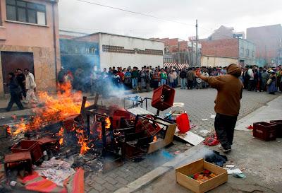 Homicidios en El Alto