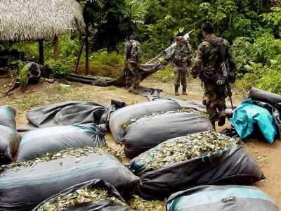 Drogas en Bolivia