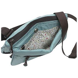 bag shown open