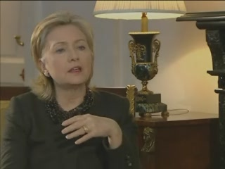 HRC Secretary of State interview Moscow Russia Bloomberg TV