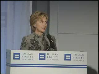 HRC speech Hillary Clinton GLBT Conference 2007