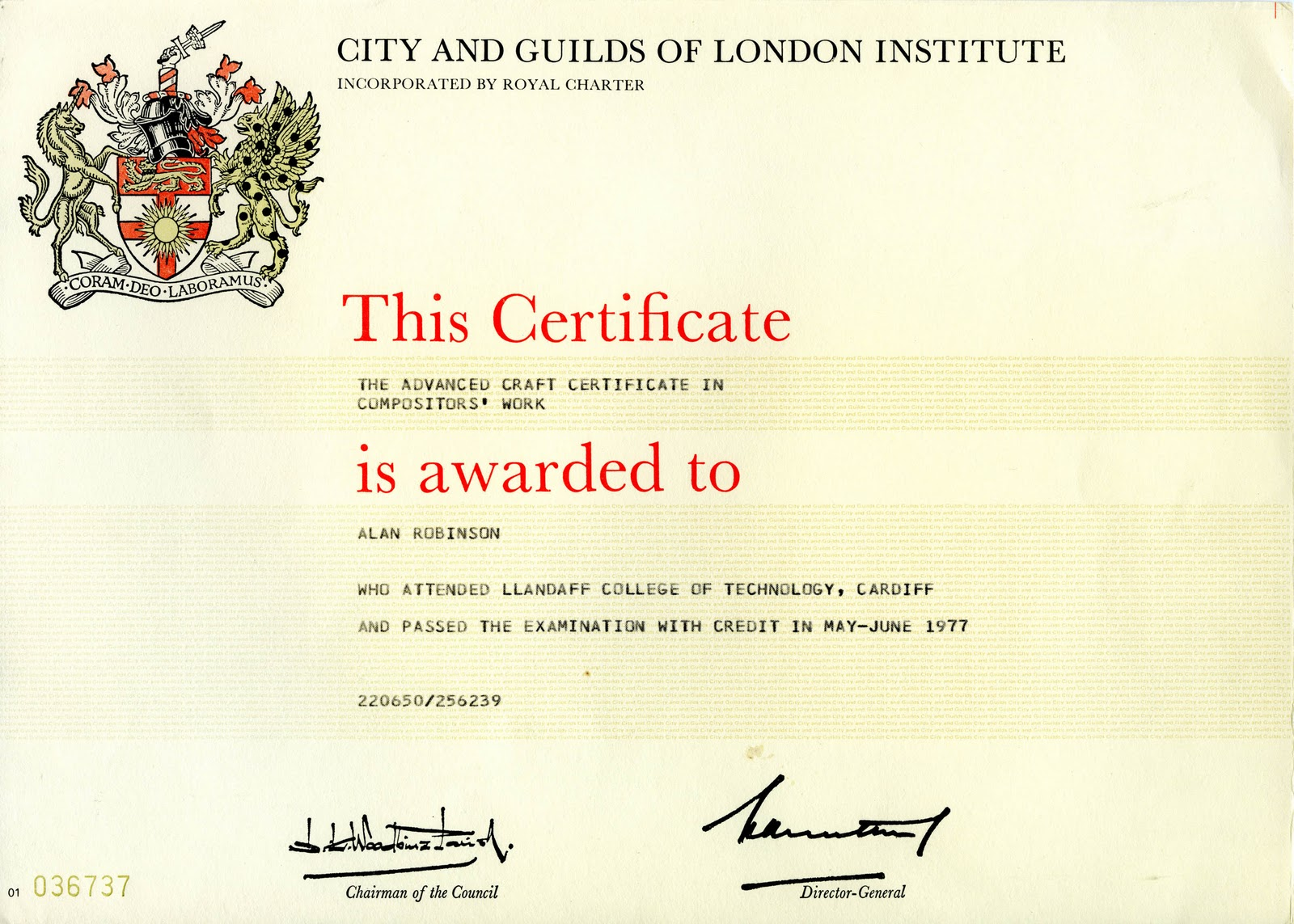 Hot Metal To Mac City Guilds Certificate In Compositors Work