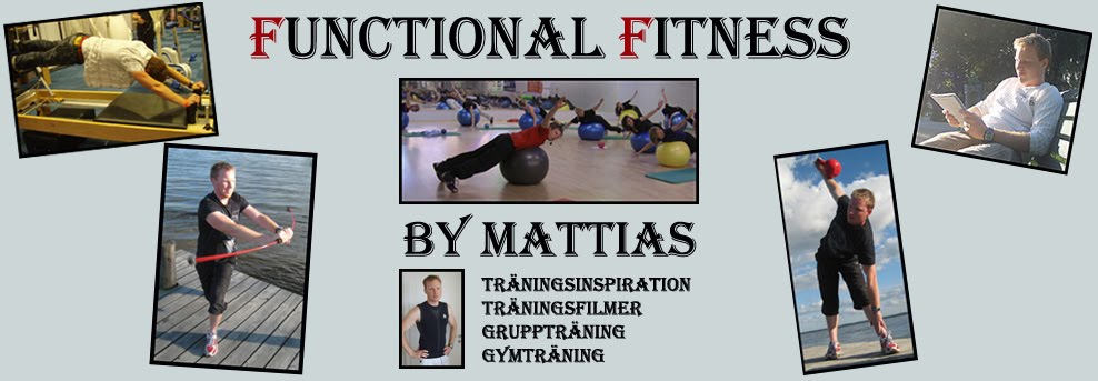 Functional Fitness by Mattias - Trningsinspiration &amp; trningsfilmer