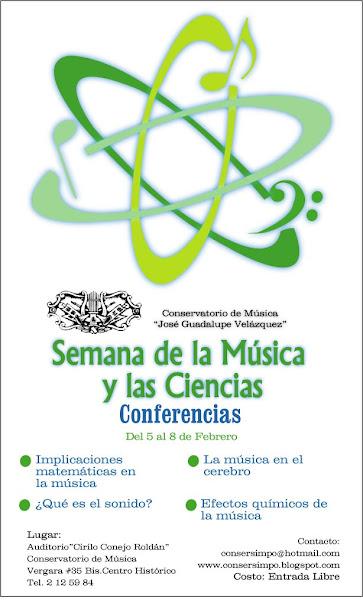 Semana de la música y las ciencias
