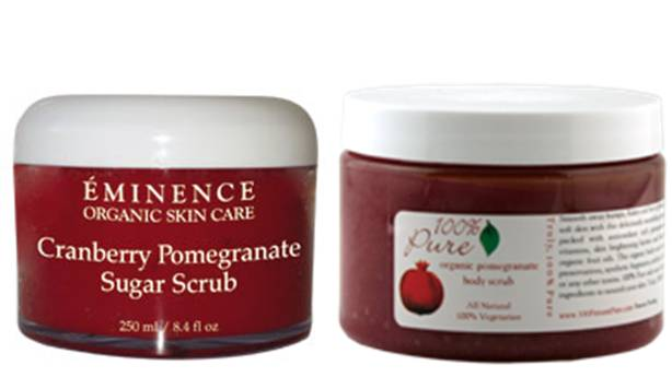 Eminence - Cranberry Pomegranate Sugar Scrub -250ml/8.4oz Ponds Towelettes Exfoliating Renewal 28 Count (3 Pack)
