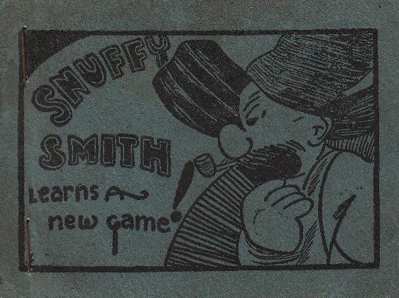 Vintage Sleaze Tijuana Bible Snuffy Smith Learns a New Game
