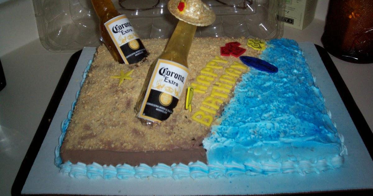 Corona Sugar Bottle Beach Cake Love Sweet Things Tx