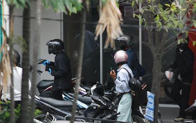 Foto Aksi Perampokan di Medan