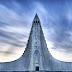 La iglesia de Hallgrímskirkja en Islandia