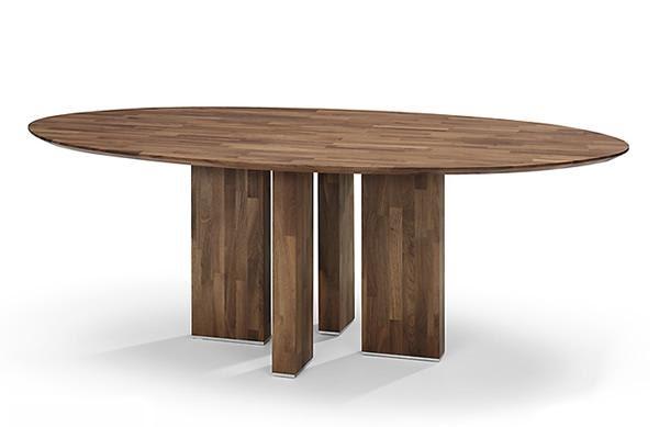 Vision on living ovale tafels for Ovale tafel
