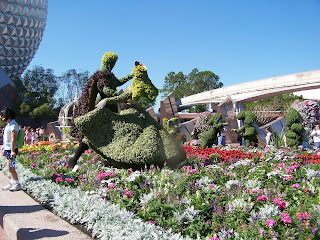 Disney World Epcot flower and garden festival