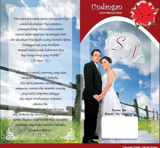 wedding card: Wedding invitation size 21 x 22 cm with two ...