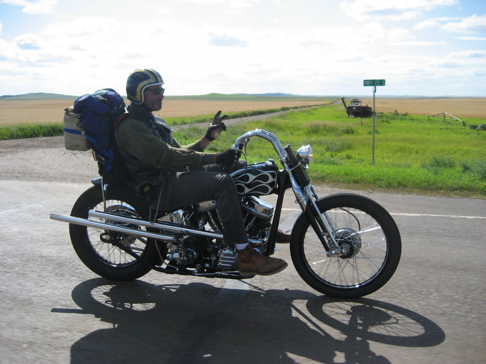 Sturgis Canada http://lovecycles.blogspot.com/2010/08/robin-and-63-canada-to-sturgis-and-back.html