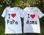 BABYGAP: I LUV MAMA/PAPA TOP