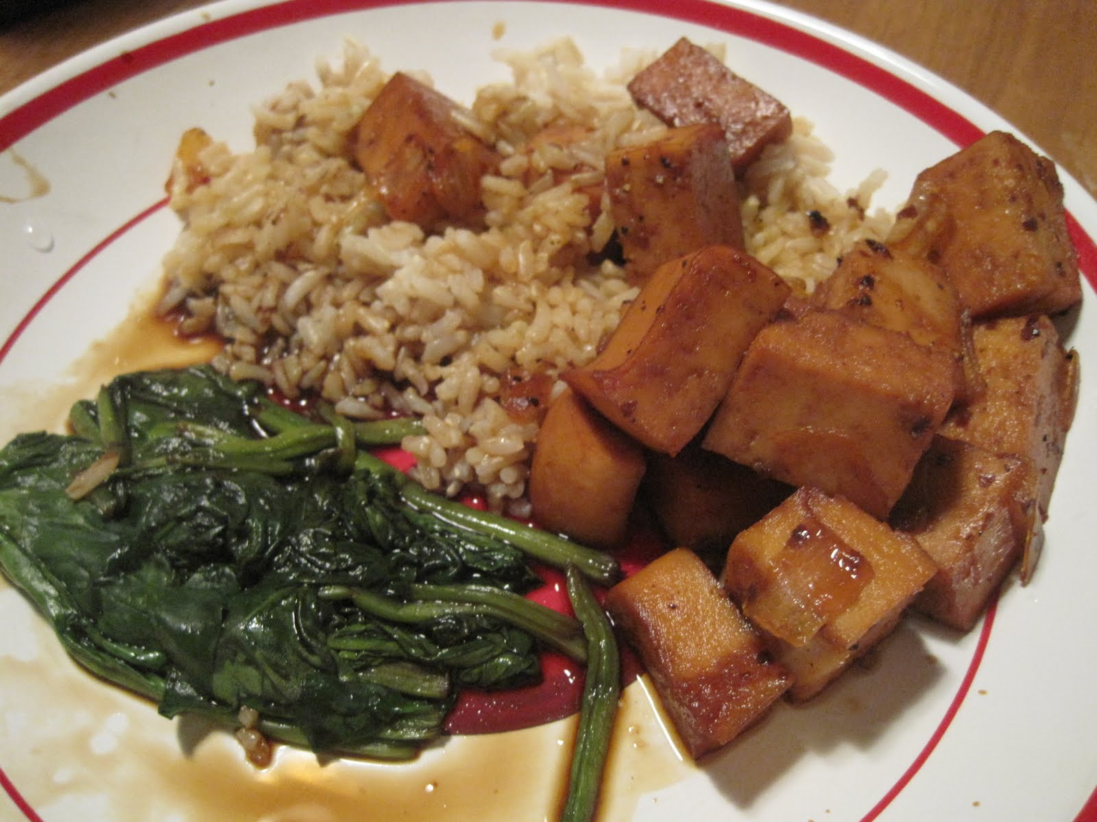 Evelyn's food blog: Braised tofu in caramel sauce