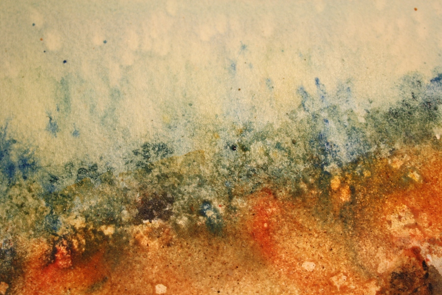 Watermarks Salt and sand