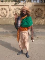 sadhu smoker