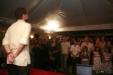 Poeta de sangue do São José do Egito, Antônio Marinho deu um verdadeiro show de poesia