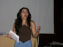 A poetisa Jacqueline Torres dos Cem poetas sem livros (agora com)