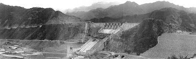 Shihmen Dam and reservoir