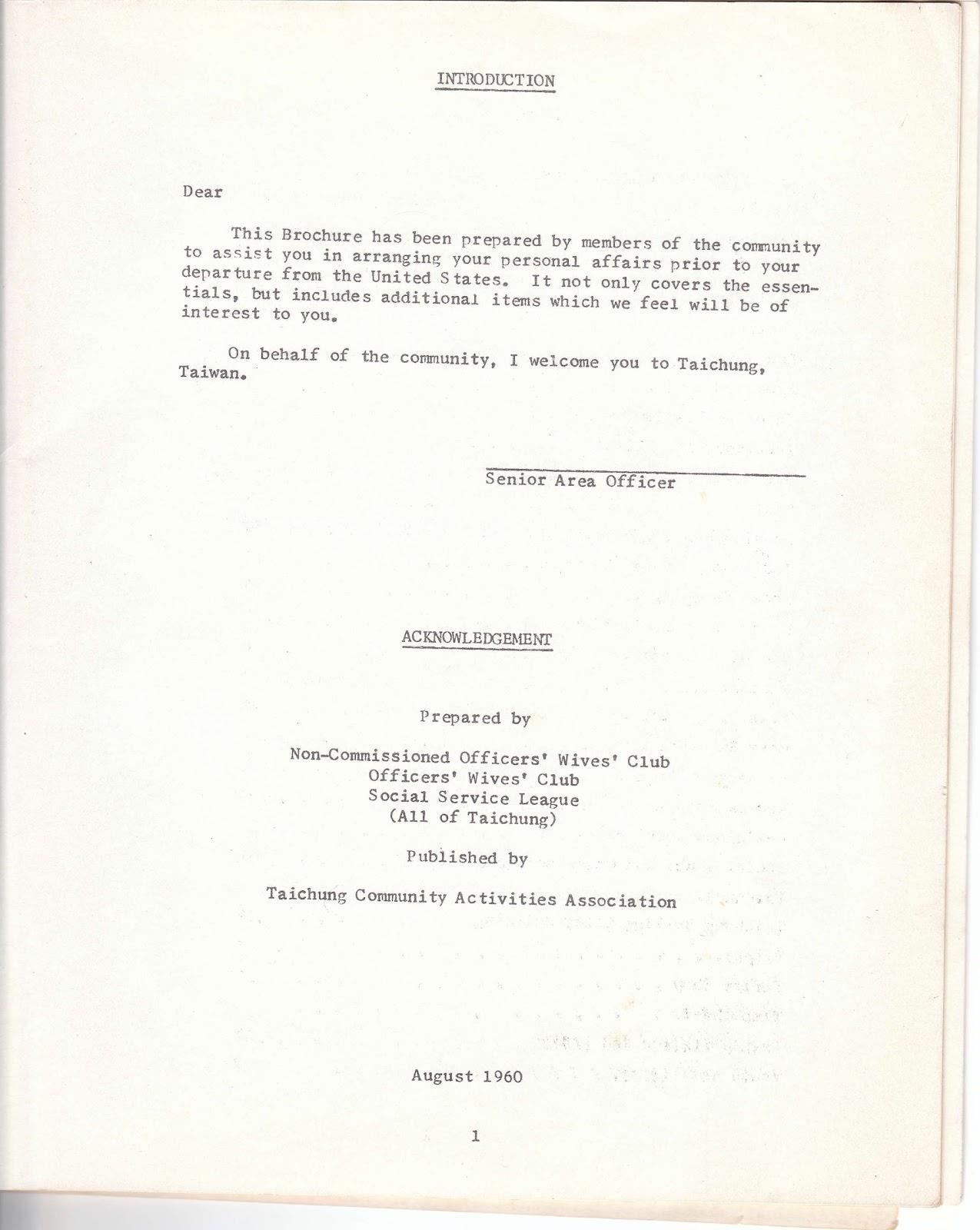 ambassador thesis