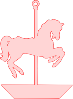 Carousel horse silhouette clip art - photo#28