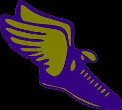 Company has logo shoes wings yellow - cheap online t shirt maker