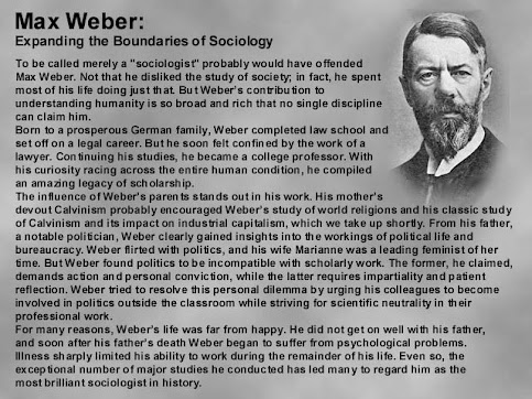account of the life and works of max weber