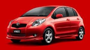 New Spesifikasi of Toyota yaris sedan 2008
