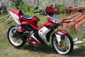 Gambar Modif motor Yamaha Jupiter MX 135CC 2009