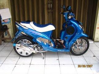 Yamaha mio Thailand Modivikasi