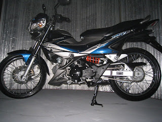 Modification Motor Kawasaki Athlete 125 cc R Hi rider