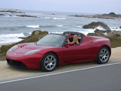 Tesla Roadster #750 Sport car Wallpapers