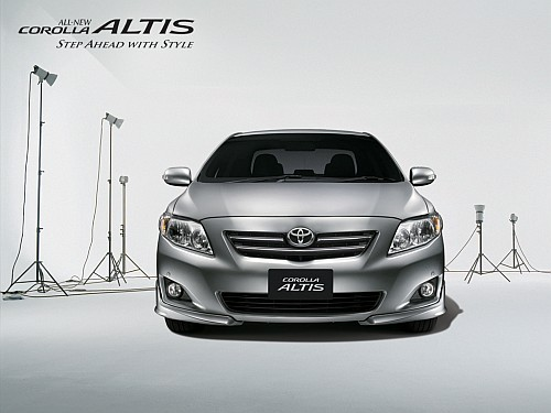 The Toyota Corolla Altis Diesel's barrage is account abroad and we  title=