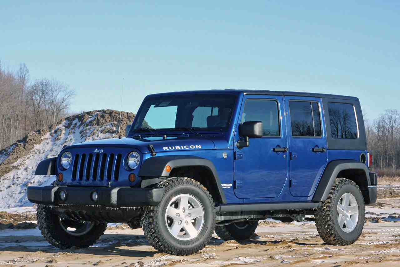 2009 Jeep Wrangler Unlimited Rubicon 4x4 Photos Gallery