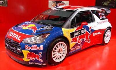 Mobil Citroen DS3 WRC 2011