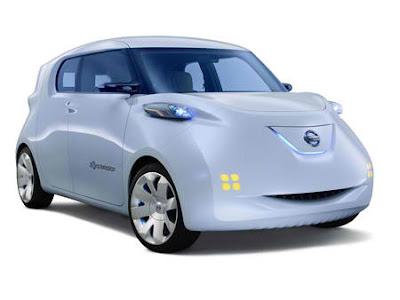 Mobil Nissan Townpod EV Hybrid