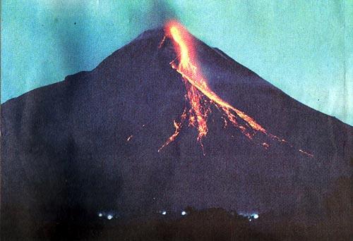Foto Gunung Merapi meleus Video