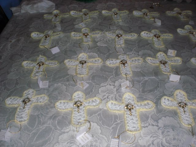 recuerdos de primera comunion tejidos a crochet