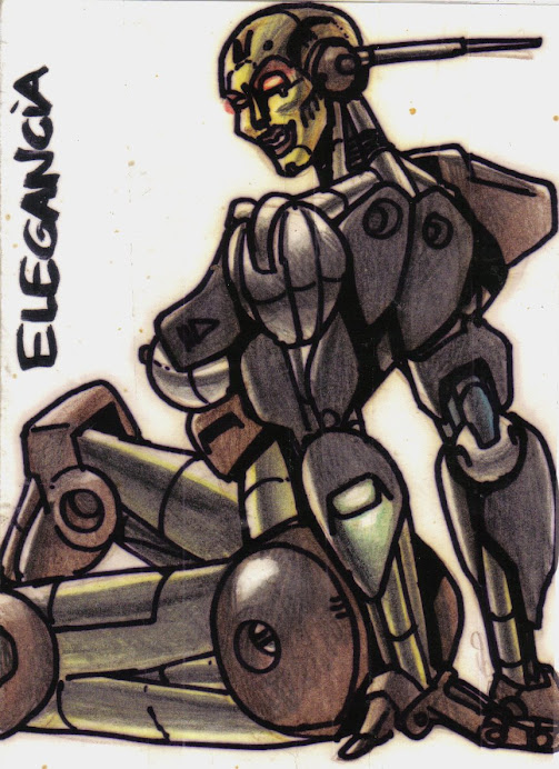 MUJER ROBOT 5