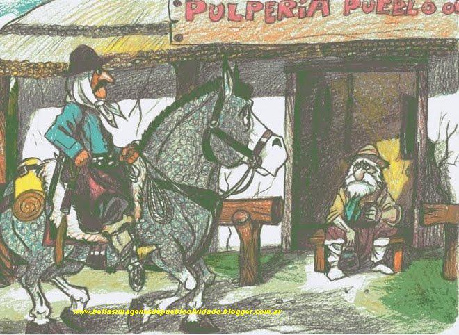LA PULPERIA DE PUEBLO OLVIDADO