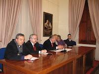 06 febbraio 2010 - Conferenza stampa del gruppo consiliare dei - Liberal Socialisti-PdL  ed UDC Roseto