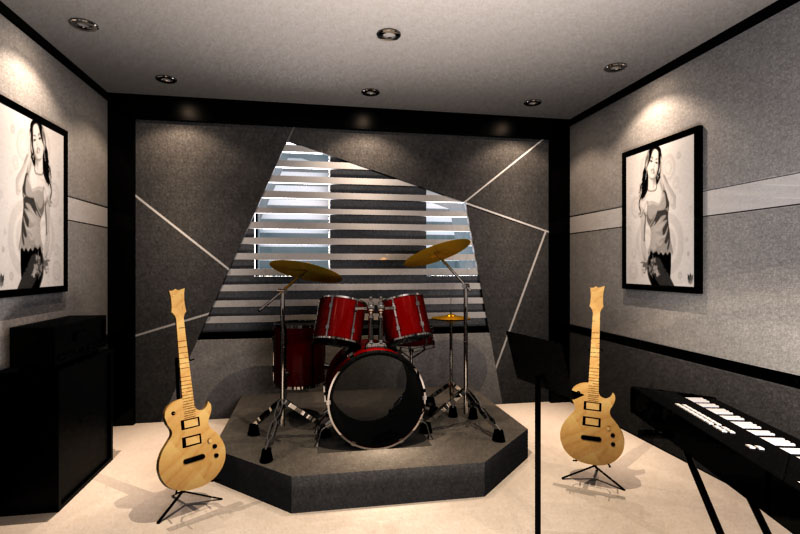 Small music studio design ideas joy studio design gallery best design - Home recording studio design ideas ...