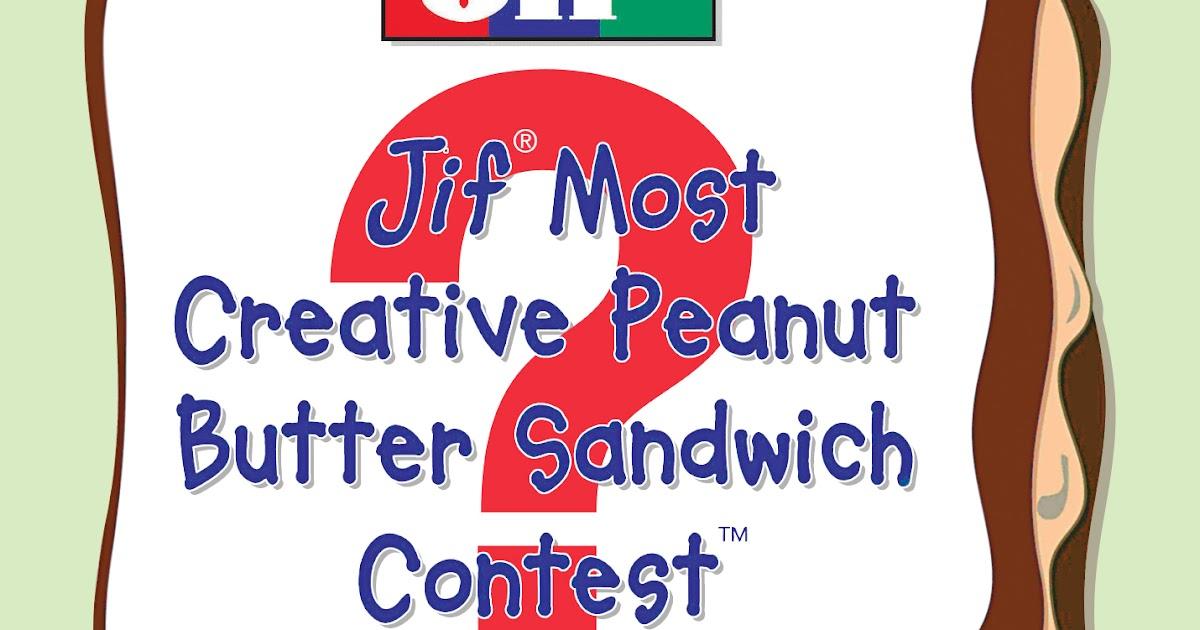 Jif most creative sandwich contest scholarship