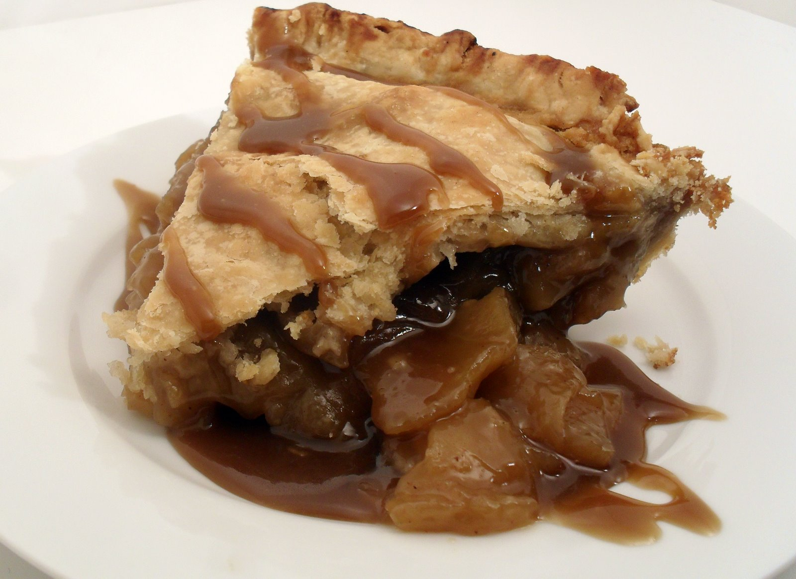 Dispensing Happiness: Caramel Apple Pie